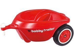 Big Toys Big-56280 Big Bobby Trailer - Red