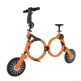 New Foldable Electric Bicycle 48V Smart Bluetooth Folding Mini Electric Bicycle with Lithium Rechargeable Battery Portable Pocket Bike