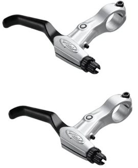 Bicycle Hand Brake Levers For Bikes MTB BMX 2 PCS SILVER