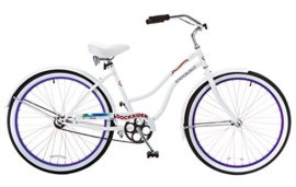Titan Docksider Single Speed Women's Beach Cruiser Bicycles in Assorted Colors
