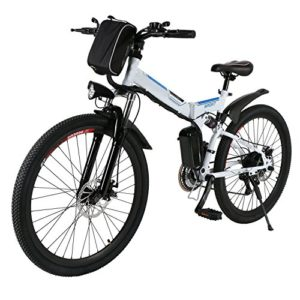 """26"""" 250W Folding Electric Mountain Bike with Lithium-Ion Battery (36V)"""