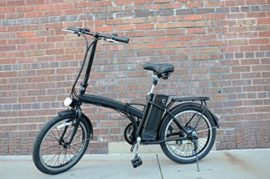 """20"""" 250W Folding Electric """"City"""" Bicycle with Lithium-Ion Battery"""