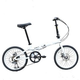 MASLEID 20 inches Foldable Bicycle Aluminum Aalloy Men and Women Mmountain Bike