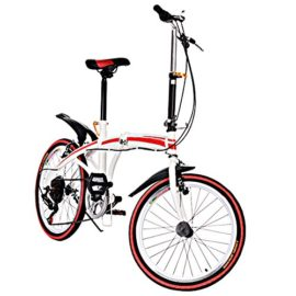 """20"""" Folding Bikes 6 Speed Trigger shift Carbon Steel U8 Bicycle for Adults"""