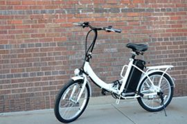 """20"""" 250W Folding Electric """"Cruiser"""" Bicycle with Lead-Acid Battery"""