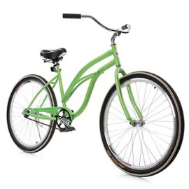 Ancheer Single speed Beach Cruiser Bicycle 26 Inch for Urban Lady
