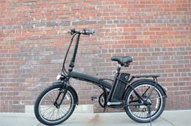 """20"""" 250W Folding Electric """"6-Speed City"""" Bicycle with Lithium-Ion Battery"""