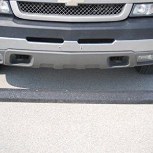 Jayhawk PB 1005 Parking Blocks Recycled Plastic44; Black