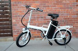 """16"""" 250W Folding Electric """"Mini City"""" Bicycle with Lead-Acid Battery"""