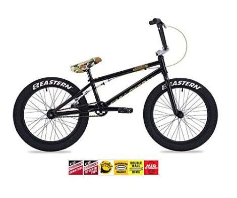 EASTERN JAVELIN BMX BIKE 2017 BICYCLE BLACK AND CAMO