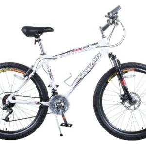 TITAN Knight 21-Speed Aluminum Front-Suspension Men's All-Terrain Mountain Bike with Disc Brake